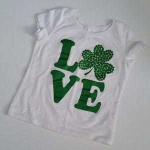 ❤ 5/$25 St. Patty's Love T shirt